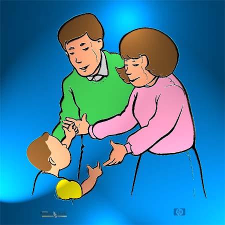 Imágenes de adopción para colorear - Imagui
